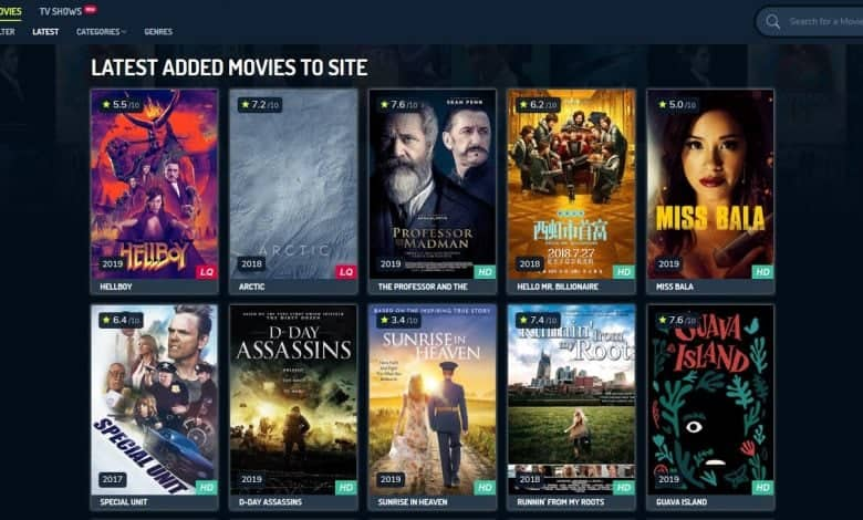 YesMovies Alternatives to Watch Movies and TV Shows Online
