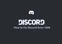 Discord Error 1006