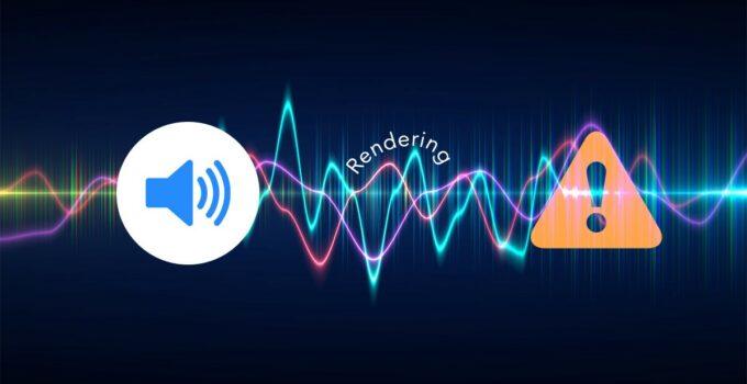 YouTube Audio Renderer Error
