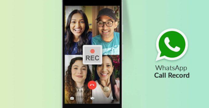 Record WhatsApp Video Call