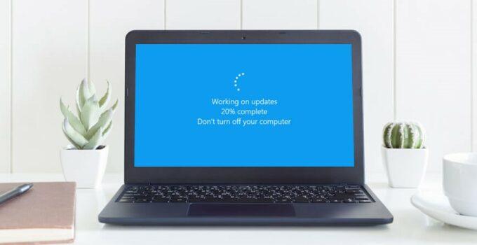 Windows 10 Update is Stuck